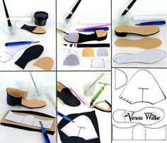 Tap shoe or Man's shoe by Verusca Walker