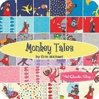 Monkey Tales Fat Quarter BundleErin Michael for Moda Fabrics