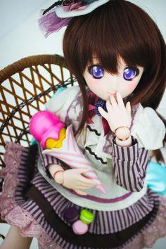 Millhie (Mini Dollfie Dream Millhiore) http://orchiddolls.wordpress.com/