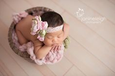 Baby Headband.Vintage Tea Party by snazziebabyboutique