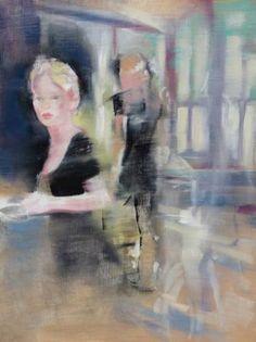"Saatchi Art Artist Gregg Chadwick; Painting, ""Passerby"" #art"