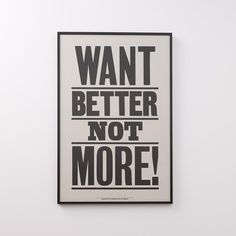 Anthony Burrill, Schoolhouse Electric, Old Adage, Typography, Lettering, Framed Prints, Art Prints, Woodblock Print, Home Decor Accessories