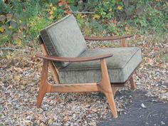 Midcentury Modern Accent Chair Furniture Lounge Chair