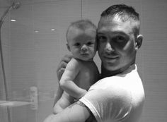 Tom Hardy and son