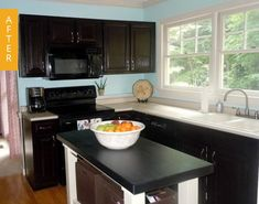 Kitchen Before & After: This Kitchen Got a Facelift for Just $65! — Kitchen Remodel