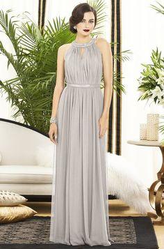 Dessy 2887 Bridesmaid Dress in oyster #WeddingtonWay