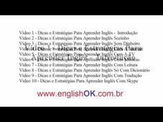 Vídeo 1 - Dicas e Estratégias Para Aprender Inglês – Introdução   EnglishOk www.englishok.com.br/dicas-e-estrategias-para-aprender-ingles-introducao/