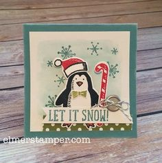 Stampin' Up! Holiday Sneak Peek - Snow Friends Bundle