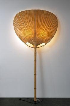 INGO MAURER  « UCHIWA I » FLOOR LAMP, 1973