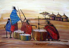 Preparing a Feast. Martin Bulinya