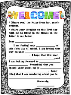 Forever in Fifth Grade-First Things First on the First Day of School blog post with Freebies!