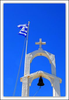 Greek Flag-What a blue! The color of the sky in Greece is unlike anywhere else in the world. Mykonos Villas, Mykonos Greece, Santorini, Cool Pictures, Cool Photos, Greek Flag, Beautiful Islands, Beautiful Life, Paros