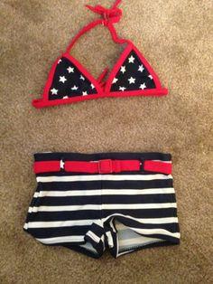 Girls Baby Gap Bikini americana - for sale on Ebay :) xo