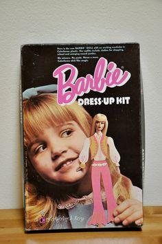 Vintage 1970's Barbie Dressup Kit by GrandmasGreenHouse on Etsy, $20.00