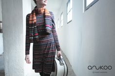 anukoo dress, G. Fall Winter, Autumn, Alpaca Wool, Winter Collection, Kimono Top, Cotton, Tops, Dresses, Women