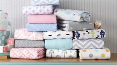 Circo® Crib Sheets in a variety of colors and patterns, exclusively at Target