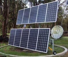 Rotary Solar Panel Tracker