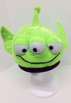 Disney Toy Story Alien Plush Hat Youth Green Costume Plush #Disney