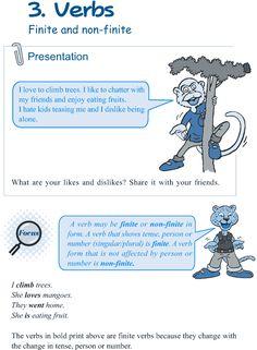 Grade 5 Grammar Lesson 3 Verbs finite and non-finite