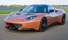 Lotus Evora 414E an electric sports car