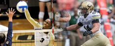 Volleyball's Alexis Austin and football's Addison Gillam, were awarded with CU Athlete of the Week honor's for their play during the week of August 26-September 1.