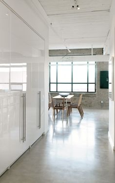 How to polish concrete floors.