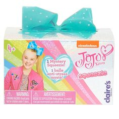 Shop Claire's for the latest trends in jewelry & accessories for girls, teens, & tweens. Find must-have hair accessories, stylish beauty products & more. Jojo Siwa Bows, Jojo Bows, Girl Toys Age 5, Toys For Girls, Jojo Siwa Birthday, Girl Birthday, Birthday Cake, Jojo Siwa Outfits, Balle Anti Stress