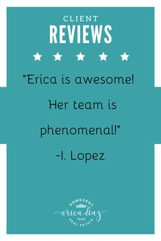Looking to buy or sell a home? Let the Erica Diaz team help! Here is what our clients are saying. Windermere Florida, Windermere Real Estate, Central Florida, Orlando Florida, Winter Garden Florida, New Home Developments, Clermont Florida, West Orange, Property Management