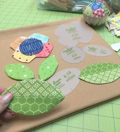 Bee In My Bonnet: NEW!!! - Tutorial on Making Patchwork Flowers and Leaves with the Sew Simple Shapes Templates