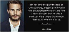 Jamie on playing Christian