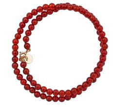 Day The rich burnt orange of this carnelian bracelet is beautifully finished with a yellow gold charm (and engraving is free)! Calendar 2014, Advent Calendar, Wedding Engagement, Wedding Rings, Irish Design, Carnelian, Fine Jewelry, Beaded Necklace, Jewels