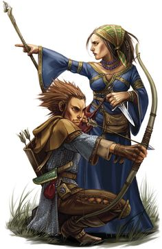Very nice depiction of gnomes with the spikey/hedgehog style hair AND without going crazy with the eyebrows.  Thank you.  Malavon: Lots o' Races in D&D 5e -  Forest Gnome and Rock Gnome