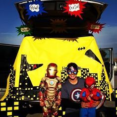 93 Best Trunk Or Treat Superhero Images Captain America Party