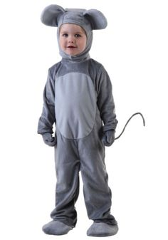 This exclusive Toddler Mouse Costume is cute enough to make you rethink your dislike for rodents! Great for Halloween or a play.