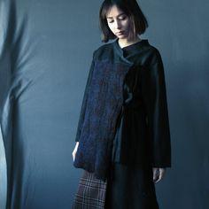 Kimono Jacket Asymmetric Kimono Cardigan Jacket by ZoeBoFashion