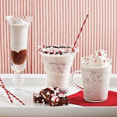 Peppermint Patty Frappes