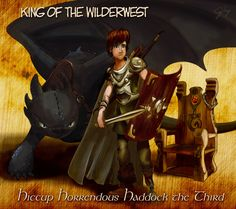 Hiccup: King of the Wilderwest by inhonoredglory.deviantart.com on @deviantART