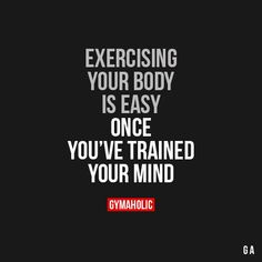 Exercising Your Body Is Easy  #fitness #gymaholic #workout