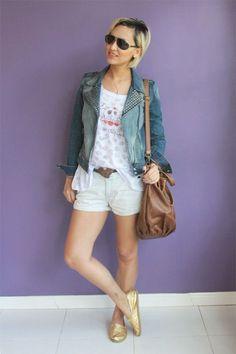 Como usar jaqueta jeans: dicas essenciais para looks bonitos - Dicas de Mulher