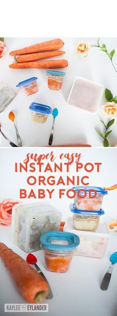 Instant Pot Pressure Cooker Baby Food - Gluten-free, dairy-free