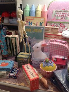Gorgeous Christmas Presents - Woodland Rabbit Night Light, Camouflage Face Paint, Cup Cake Money Box and lots more