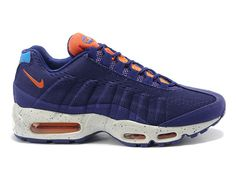 arrives 4508d 46d04 Nike air max 95 engineered mesh chaussures nike sportswear pas cher pour  femme fille blanc   bleu 554971-id1-1812280177