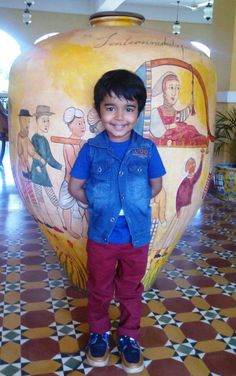 Atul Kalra our cute guest at Country Inn & Suites By Carlson, Goa Candolim !  Hit like for our youngest guest of the week !!!  #guestoftheweek #cuteguest #cis #goa #candolim
