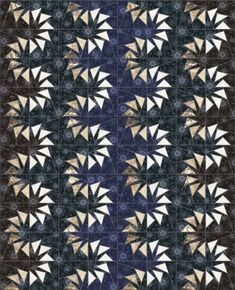 Wave Pool make these flying geese in a color wave Patchwork Quilt Patterns, Paper Piecing Patterns, Quilt Block Patterns, Quilting Projects, Quilting Designs, Quilt Design, Art Quilting, Sewing Projects, Flying Geese Quilt