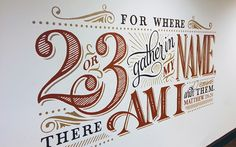 Church Mural on Behance - wall art
