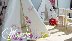 Moozle Teepee Tents for kids