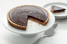 Find the recipe for Salted Chocolate Caramel Tart and other chocolate recipes at Epicurious.com