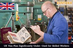 UK Visa Plan Significantly Under-Used for Skilled Workers
