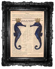Caballitos de mar por MARIA JOSE SORIANO SAEZ en Etsy #Orgonite #Magic #Pendant #Pyramid #Rune #Cross #Cone