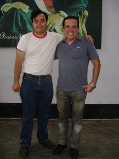 Con el Candidato a la Alcaldía de Lima e hijo de Ciro Alegría, Gonzalo Alegría. (2010)